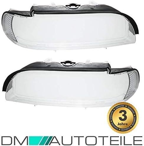 Dm Autoteile Facelift Scheinwerferglas Scheinwerfer Gehäuse Streuscheibe Weiß Für E39 00 Auto