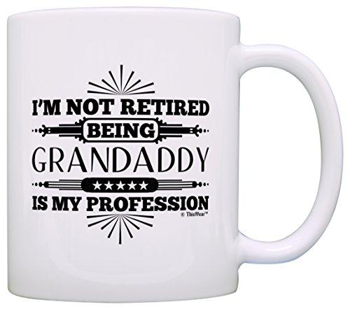 Retirement Retired Granddaddy Profession Coffee