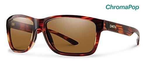 Smith Optics Men's Drake Chroma Pop Polarized Sunglasses (Brown Lens), - With Glasses Drake