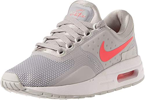 nike Air Max Zero Essential GS Running Trainers 881229 Sneakers Shoes (6 M US, Grey-pink-white 003) (Nike Air Max Lebron Pink)