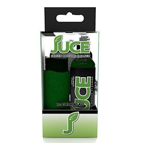 JuceMobile JM-CL-K2OZ AppleJuce Screen Cleaner Travel Kit with 2 Chamois by JuceMobile