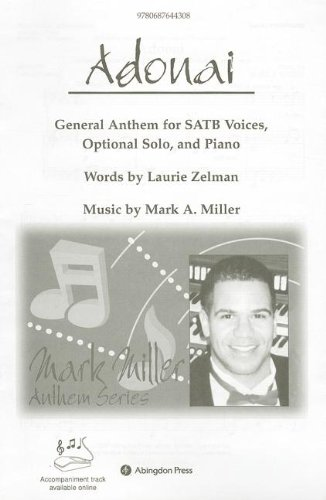 Adonai Anthem: General Anthem for SATB voices and Piano pdf