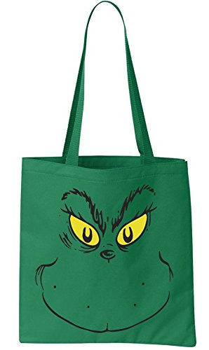 Grinch Face Basic Tote - Perfect reusable grocery bag or daily use ()