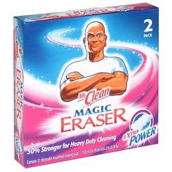 Magic Eraser Extra Power Multipurpose Cleaning Pads 2-Count