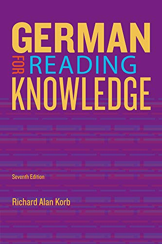 German for Reading Knowledge (World Languages)