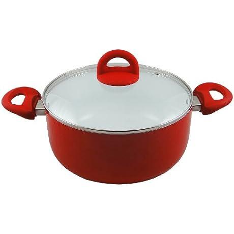 Concord 5 Quart ECO Friendly Ceramic Dutch Oven Casserole Pot