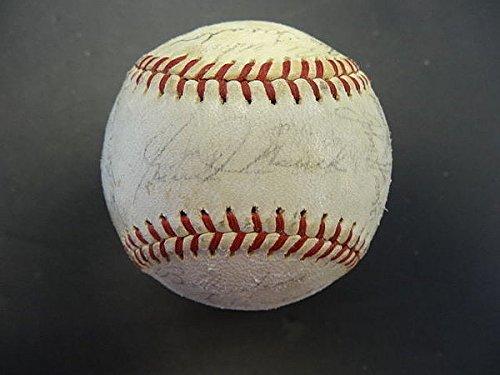 25-1965-Phil-Phillies-Team-Signed-Baseball-PSADNA-Signed-Baseballs-Autographed-Baseballs