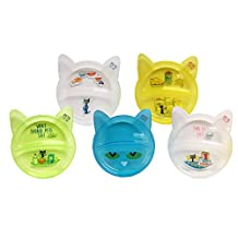 Kids Preferred Pete The Cat Baby Toys, 5 Piece, Plate Set