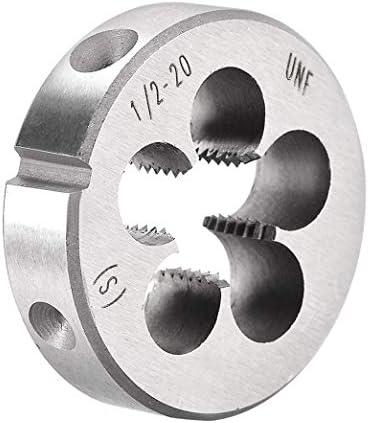 LNIEGE Rechte Hand Round Die Maschinengewinde Threading Die Schraube Die Tool (1PC)