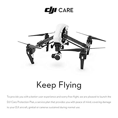 DJI Inspire 1 V2.0 + DJI Care 1 Year Plan (Entity Card)