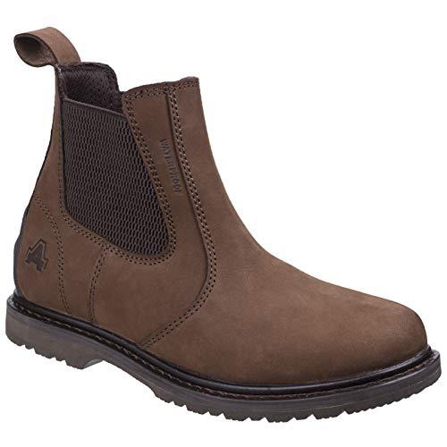 (Amblers Mens Aldingham Dealer Boots (7 US) (Brown) )