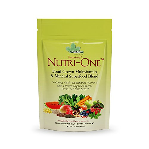 in and Mineral Superfood Blend for Men and Women by Natura Health Products - with Vitamin C, Vitamin E, Vitamin D3, Vitamin B Complex, and Vitamin A - 200 Grams (7 Ounces) Powder ()