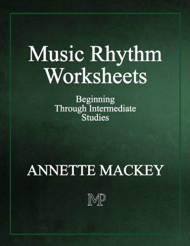 Music Rhythm Worksheets: Beginning Through Intermediate Studies (Rhythm Mandolin)