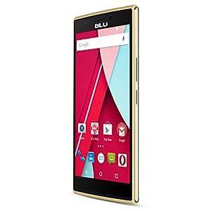 BLU Life One 4G LTE Smartphone - GSM Unlocked - 8GB + 1GB RAM - Gold