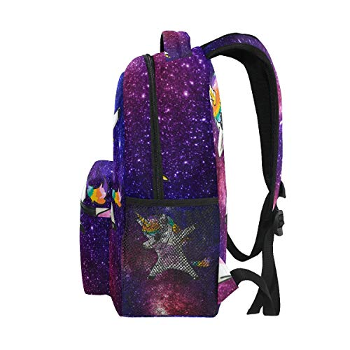 Yellow Sunflower School Backpack Bookbag Daypacks for Kids Boys Gilrs Women Men