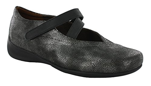 Caviar Leather - Wolky Women's Passion Black Caviar Leather 42 European