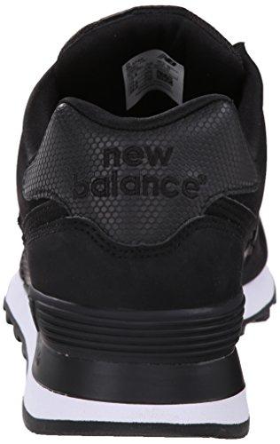 Ny Balans Mens Ml574 Stealth-pack Sneaker Skor Svart