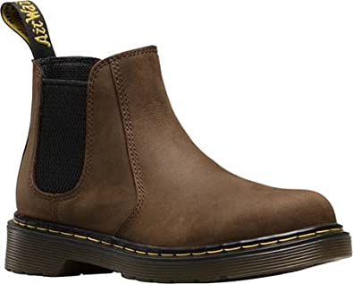 Dr. Martens Kids Banzai 2976 Chelsea Boots in Brown 1c71151948