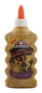 Elmer's 2022912 Liquid Glitter Glue, Washable, Gold, 6 Ounces, 1 Count
