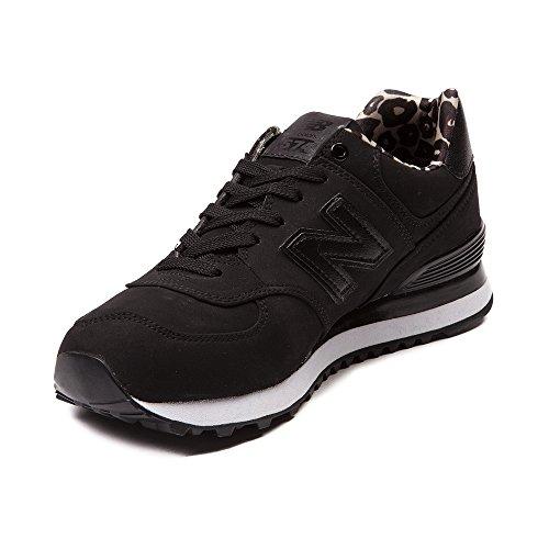 New Balance Femmes Wl574 Core Plus-w Sneaker De Mode De Vie Noir 1225