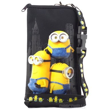 despicable-me-minions-authentic-licensed-lanyard-with-cellphone-purse-wallet-black