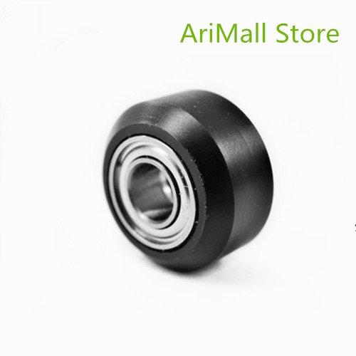 WillBest 10pcs 3D Printer CNC High Precision Delrin Mini V Wheel Kits with Ball Bearing for Openbuilds V-Slot Linear Rail System