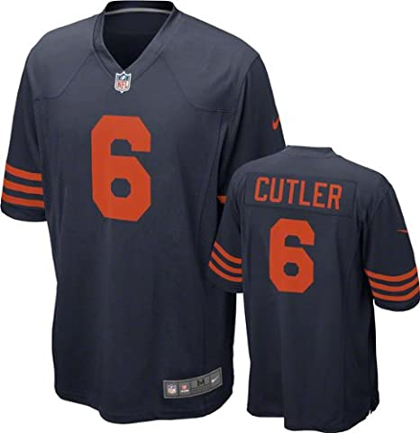 9b19ecc604c Chicago Bears Jay Cutler  6 NFL Big Boys Youth Alternate Game Jersey