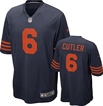 best service 16bad 838a2 Chicago Bears Jay Cutler #6 NFL Big Boys Youth Alternate Game Jersey, Navy