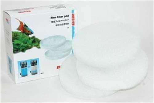 EHEIM Fine Filter Pad (White) for Classic External Filter 2217 (3 Pieces) by Eheim