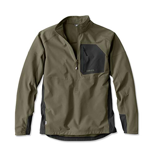 Orvis Pro Lt Hunting Pullover, Olive, X Large by Orvis