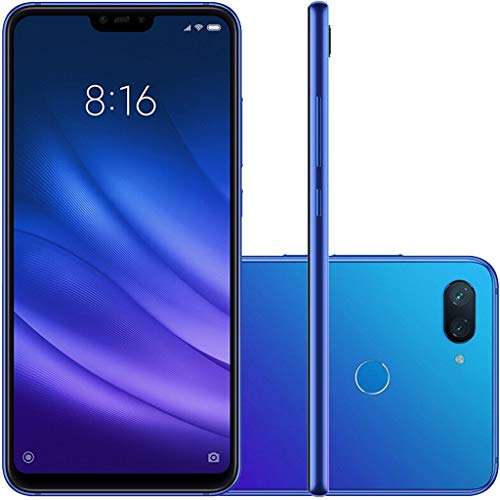 "Xiaomi Mi 8 Lite Dual Android 8.1 Tela 6.26"" 64GB Camera Dupla 12+5MP, Azul"