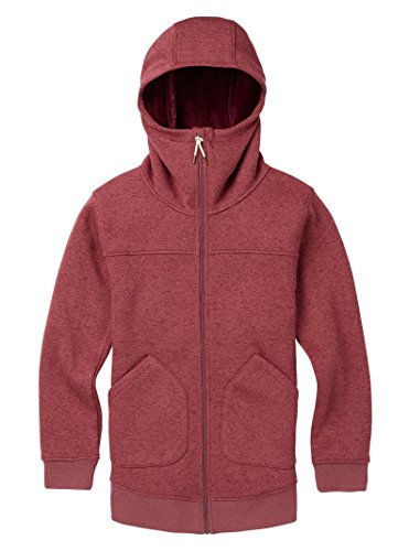 (Burton Women's Minxy Full-Zip Hoodie, Rose Brown Heather,)