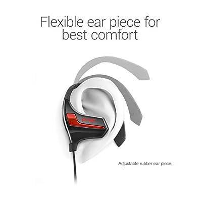 Sumvision® Psyc® Esprit Bluetooth 4.1 Wireless Bluetooth Sports Sport Headphones Headphone Sweatproof Noise Isolation Earbuds Headset In-ear Secure Fit Running Gym Cycling Earphones, aptX, Mic