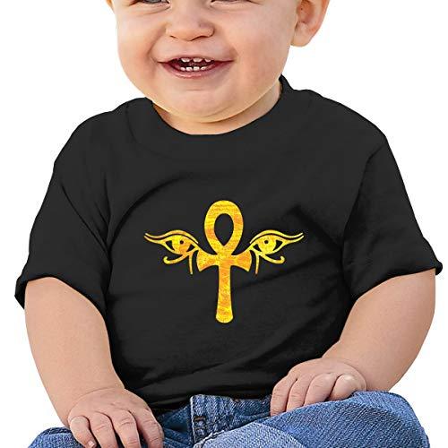 yes of Horus Egyptian Unisex Infants Crew Neck Short Sleeve Tee ()