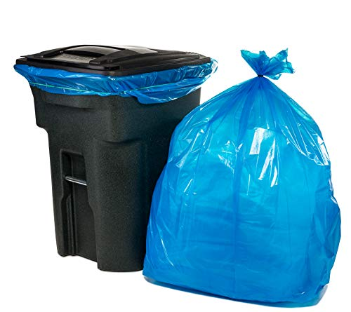 95-96 Gallon Recycling Trash Bags, 61