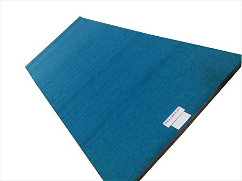 "10'x5'x2"" Dollamur Flexi Roll Carpeted Cheer/Gymnastics Mat"