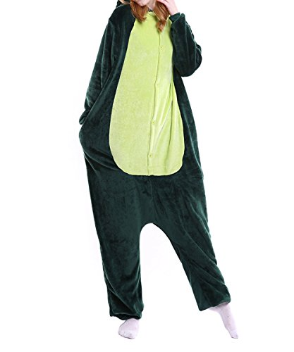 da Green Donna notte XaoRo Indumenti Dinosaur gzSqnBRw
