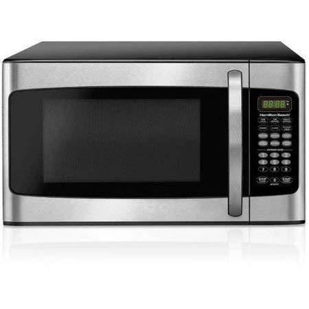 1.1 cubic foot 1000 watt microwave oven (Stainless Steel)