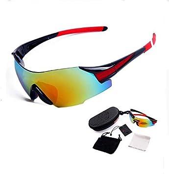 961e68839a DAYANGE Gafas de Ciclismo Profesionales para Motocicleta, Deportes de  Seguridad, Gafas de Sol para Bicicleta MTB Gafas Gafas Gafas Hombre Mujer 3  Colores, ...