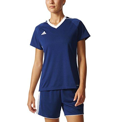adidas Tiro 17 Womens Soccer Jersey S Dark Blue-White