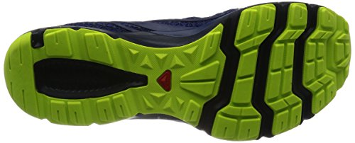 Salomon Crossamphibian, Zapatillas de Trail Running para Hombre Azul (Nautical Blue/Blue Depths/Lime Punch.)