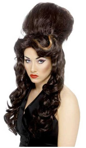 Novelties Direct Amy Winehouse Beehive Wig (peluca)