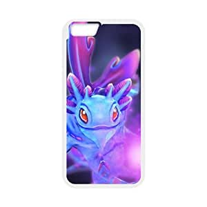 Defense Of The Ancients Dota 2 PUCK iPhone 6 Plus 5.5 Inch Cell Phone Case White GY088664