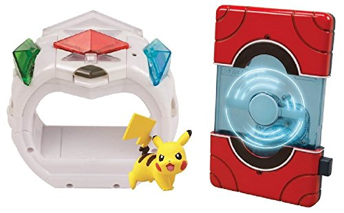 Pokemon Exclusive 2 Pcs. Pokedex & Z-Ring Combo Playset