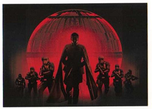 2016 Topps Star Wars Rogue One Series 1 Montages #M-7 Empire Silhouettes ()