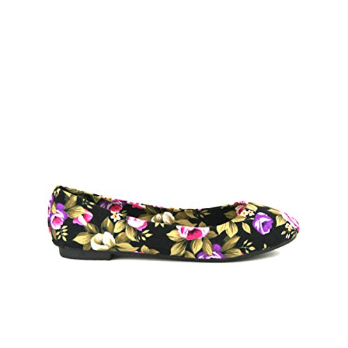 Shoes Floral It's Ballerine Chaussures Femme Cendriyon aSqA6xZx