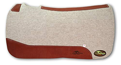 The Montana 100% Extra Fine Wool Saddle Pad by Southwestern 3/4