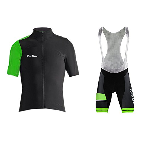 Uglyfrog 2017 New Summer Cyling Set Short Jersey +Bib Shorts Triathlon Wear Brief Professional Classic Retro MTB Bicycle - Singapore 2017 Triathlon