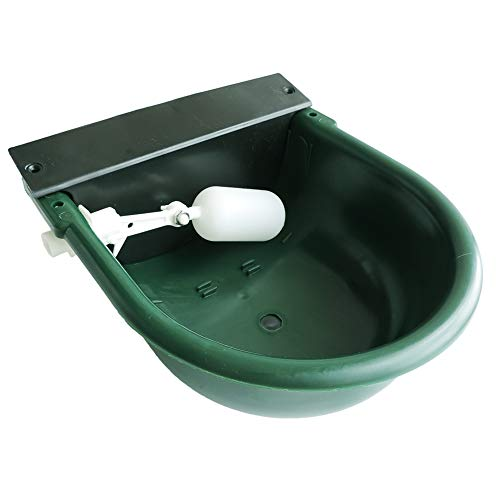 Lucky Farm Automatic Float Valve Water Trough Cow Cattle Horse Water Bowls Livestock Tool Bowl for Cat Goat Sheep Dog Animal Drinking Equipment
