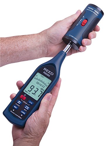 Reed Instruments R8090 SC-05 Sound Level Calibrator for 1 2 Diameter Microphones, -0.5dB Accuracy